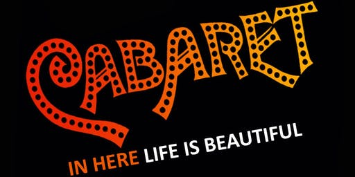 Fairfield Center Stage presents CABARET Fri Sep 20 @ 8pm