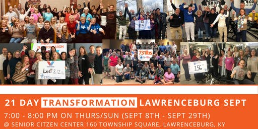 21 Day Transformation - Lawrenceburg (September)