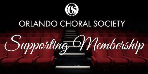 2019 - 2020 Season - Supporting Membership