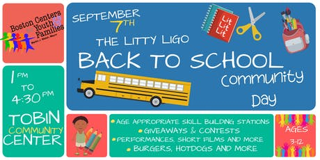 The 1st Annual Litty Ligo Back To School Community Day tickets