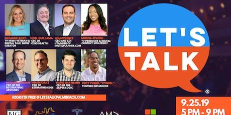 Let's Talk Palm Beach 2019 tickets