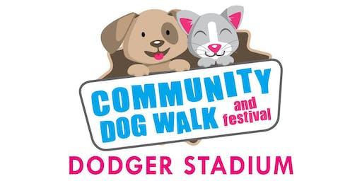 Dodger Stadium Community Dog Walk & Festival