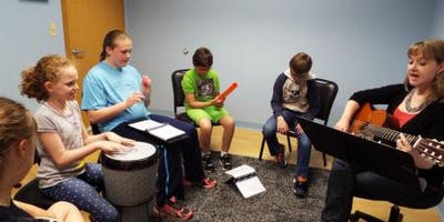 CVASA Teen Group Music Therapy