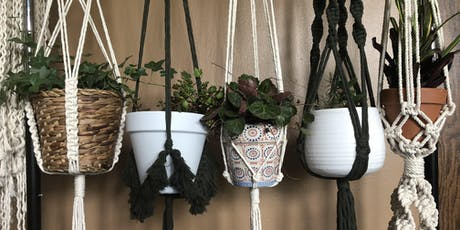 DIY Macrame Plant Hangers + Beer at 56 Brewing- Northeast Minneapolis! tickets