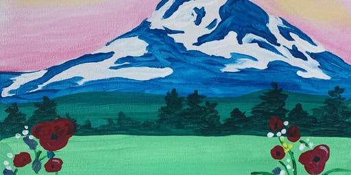 Paint night at The Hive Taphouse in Oregon City!