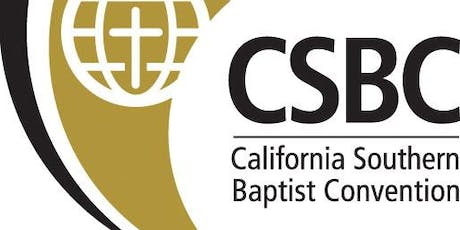 California Southern Baptist Convention Meeting tickets