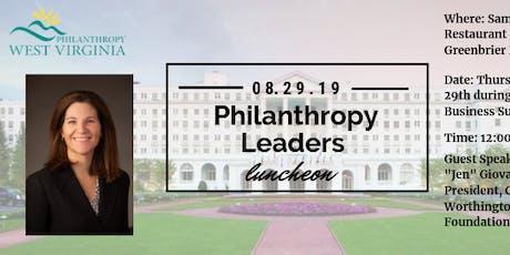 Philanthropy Leaders Luncheon tickets