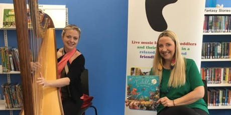 Concerteenies Stories: Tiddler with harp (3s & 4s) tickets