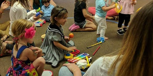 Fridays 10am 8 week session Child and Me Music class