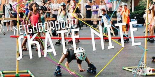 Neighborhood Skate Nite!