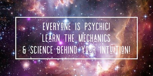 Everyone Is Psychic a workshop by Britney Buckwalter