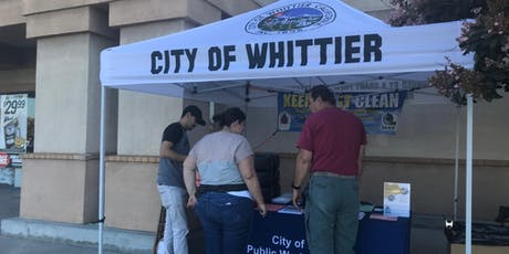 City of Whittier FREE Used Oil Filter Exchange @ AutoZone tickets