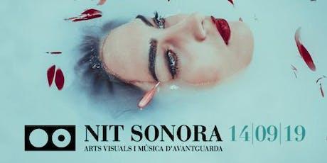 Nit Sonora 2019 entradas