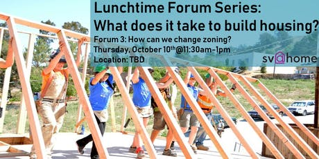 Fall 2019 Lunchtime Forum Series Session 3: How can we change zoning? tickets