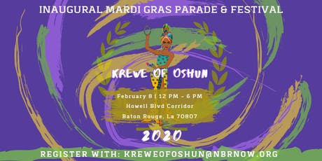 Krewe of Oshun Parade & Festival Registration tickets