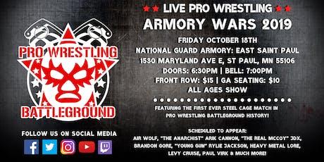 Pro Wrestling Battleground: Armory Wars 2019 tickets