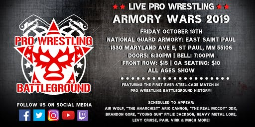 Pro Wrestling Battleground: Armory Wars 2019