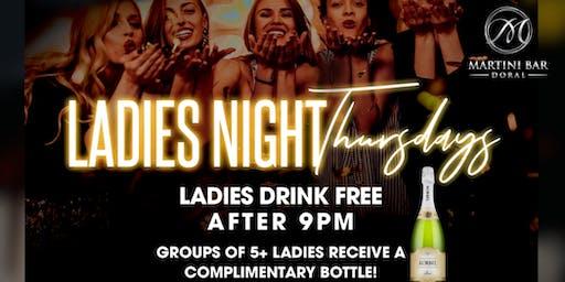 Ladies Night Thursday ft. MELO