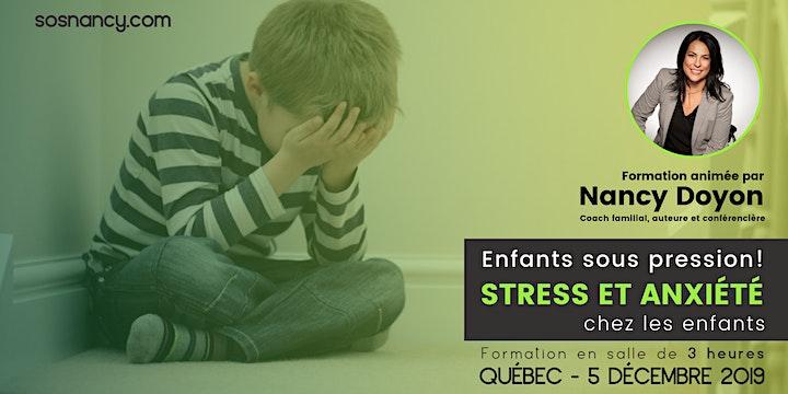 Image de Formation : Enfants sous pression! Stress et anxiété chez les enfants.