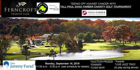 Tall Paul Dana-Farber Golf Tournament tickets