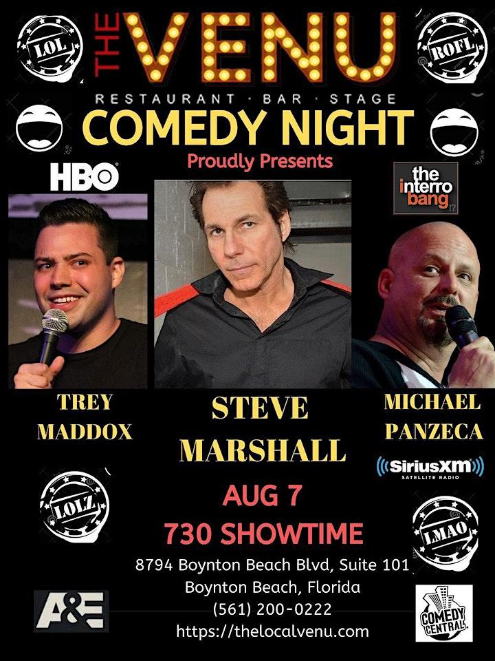 Comedy Wednesday starring Steve Marshall image
