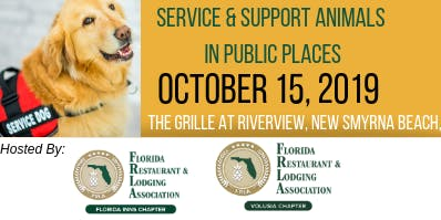 October Service & Support Animals in Public Places