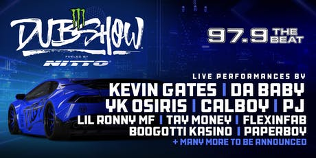 2019 Dallas Monster Energy DUB SHOW Presented By 97.9The Beat tickets
