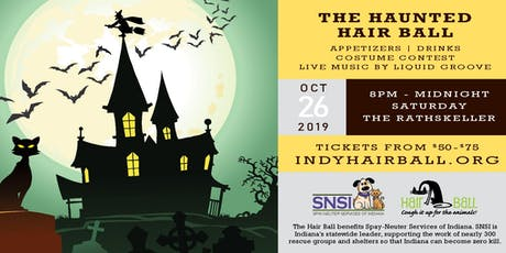 The Haunted Hair Ball tickets
