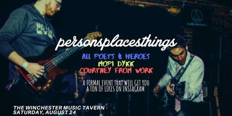 Personsplacesthings at Winchester, 8/24 tickets