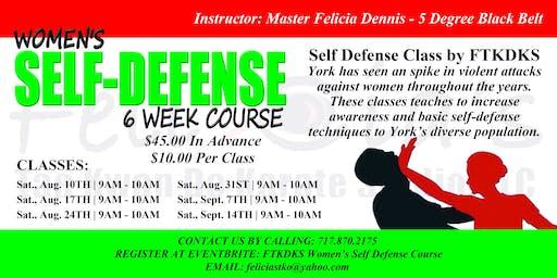 FTKDKS Women's Self-Defense Classes