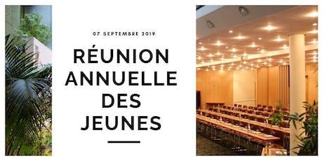 Réunion annuelle des Jeunes Talents et Entrepreneurs 2019 tickets