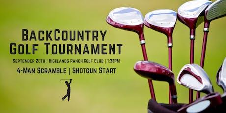 2019 BackCountry Golf Tournament tickets