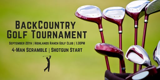 2019 BackCountry Golf Tournament