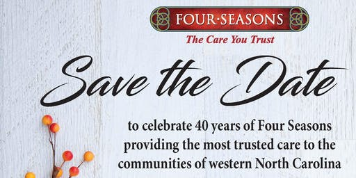 Four Seasons 40th Anniversary Celebration