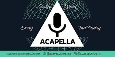 Acapella Poetry Night tickets