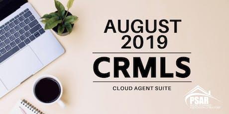 Cloud Agent Suite tickets