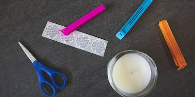 Candle making business workshop