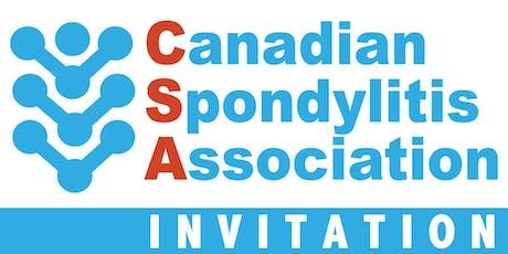 Spondyloarthritis Information Session /Séance d'information sur la spondylarthrite- Montreal tickets
