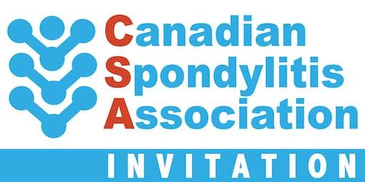 Spondyloarthritis Information Session /Séance d'information sur la spondylarthrite- Montreal