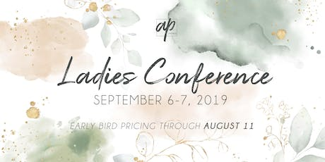 AP Ladies Conference 2019 tickets
