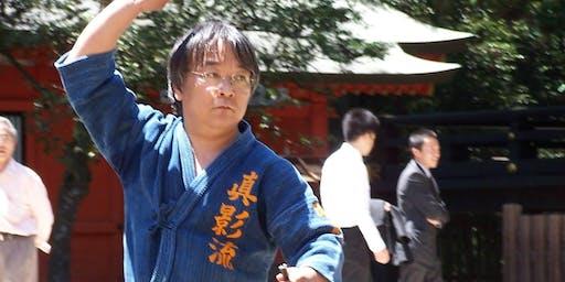 Japanese Martial Arts Hand Held Weapons Seminar