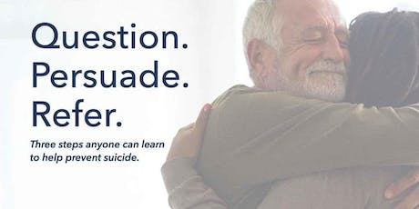 QPR (Question. Persuade. Refer.) Suicide Prevention Training tickets