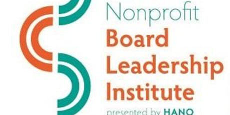 2019 Hawai'i Nonprofit Board Leadership Institute Presented by HANO tickets