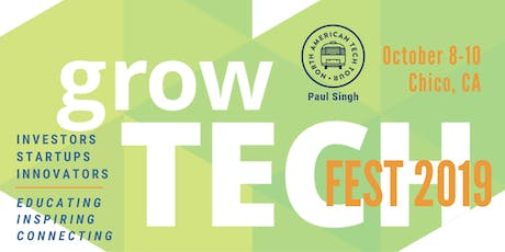growTECH FEST 2019 - Oct 8-10 tickets