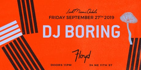DJ Boring by Link Miami Rebels tickets