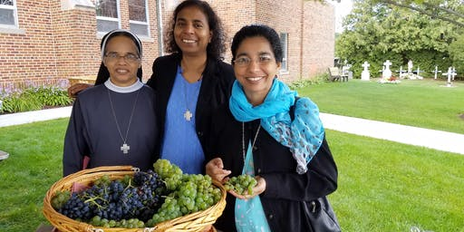 Feast Day Mass for the Nativity of Mary, Blessing of the Grapes and Farm-to-Table Luncheon