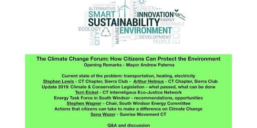 Mayor's Forum on Climate Change