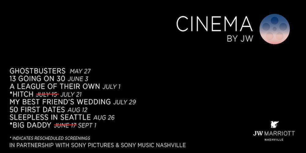 Cinema by JW Tickets, Multiple Dates   Eventbrite