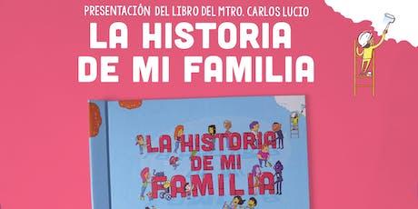 """Presentación del Libro """"La Historia de mi Familia"""" - IVEC Veracruz entradas"""