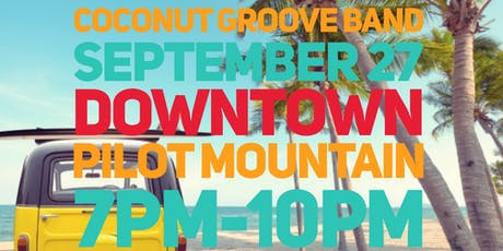 Downtown Summer Concert: Coconut Groove Band tickets